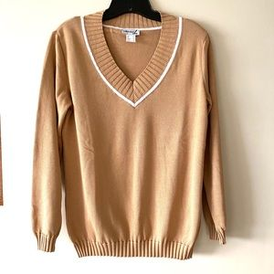 Camel Pullover Sweater